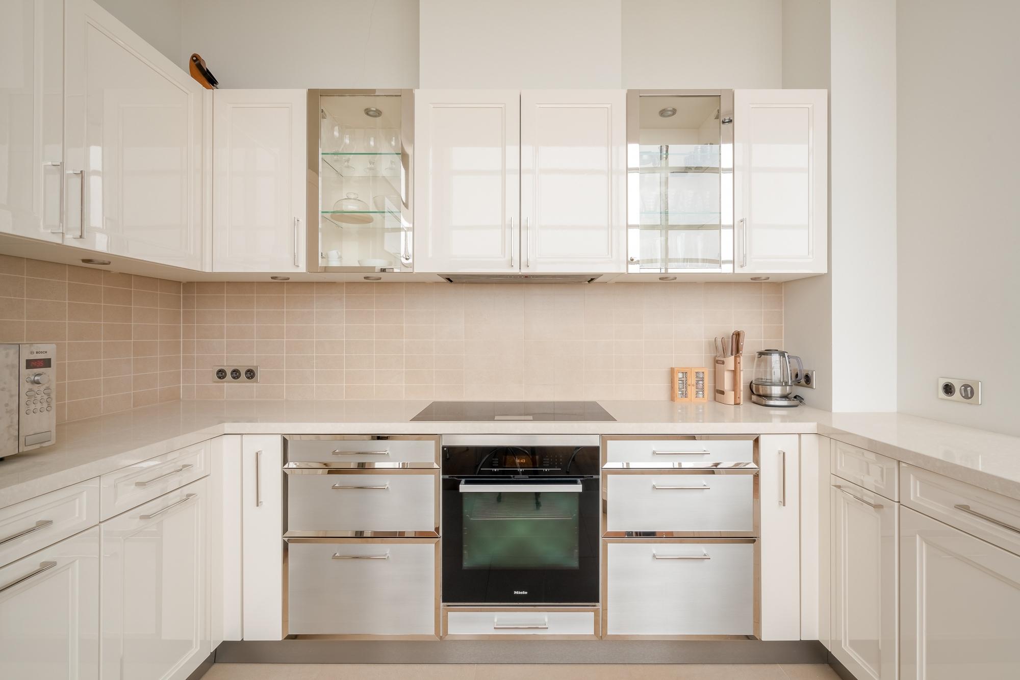 интерьерная фото съёмка кухня